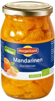 Morgenland Mandarinen im Glas 370 ml